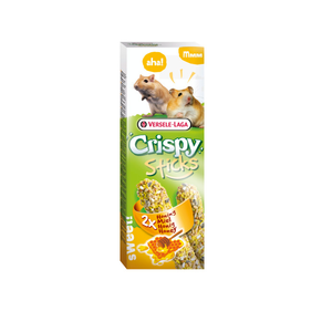 Crispy Stick Hamster en Gerbil Honing 2 x 55 gram