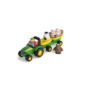 Britains John Deere Preschool Hooiwagen met Dierengeluiden